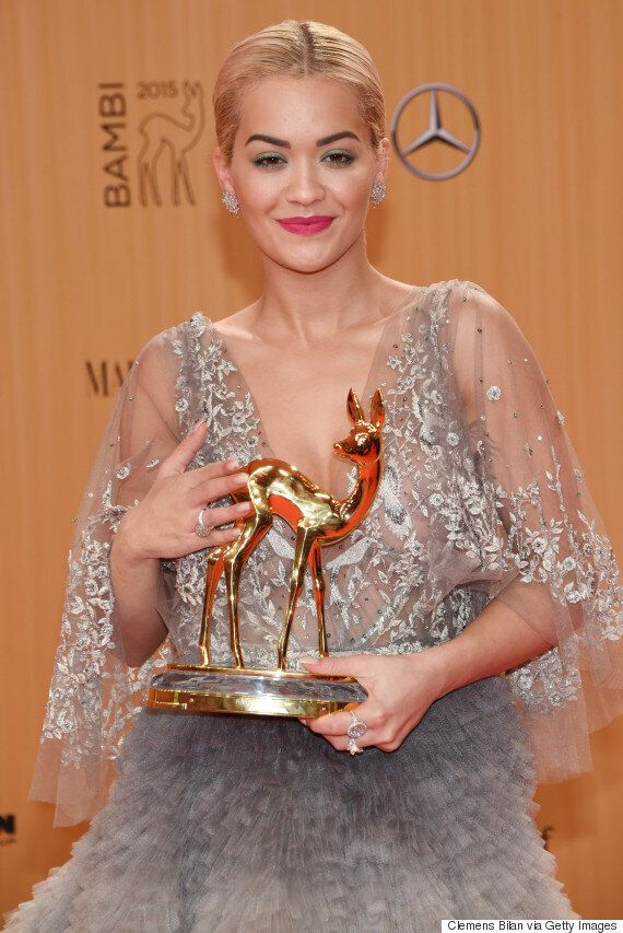 Rita Ora Wore The Most Beautiful Dress At The 2015 Bambi