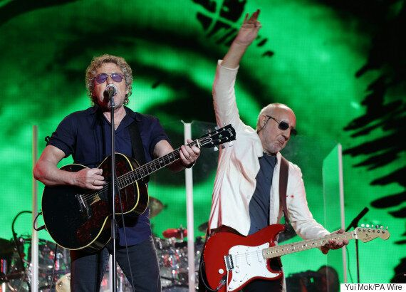 Glastonbury: Tho Who's Headline Set Brings 2015 Festival To A Close
