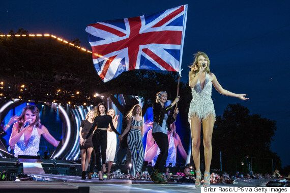 Taylor Swift's Hyde Park Gig Saw Friends Including Kendall Jenner And Cara Delevingne Join Her On Stage