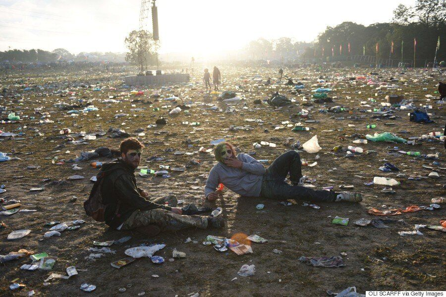 The Aftermath Of Glastonbury 2015: Shocking Before And After