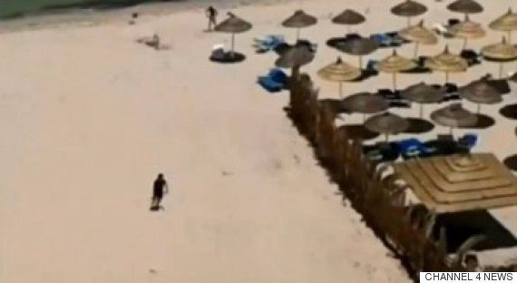 Tunisia Beach Terror: Footage Emerges Of Gunman Moments After