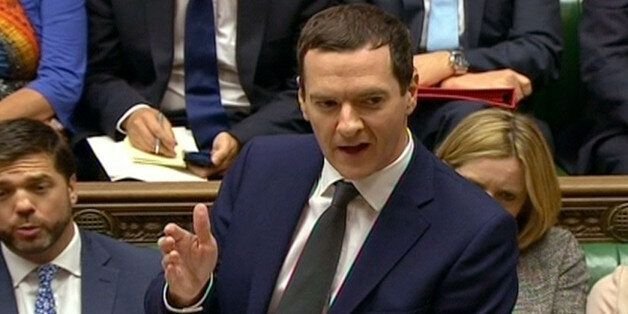 Chancellor of the Exchequer George Osborne speaks during Prime Minister's Questions in the House of Commons,