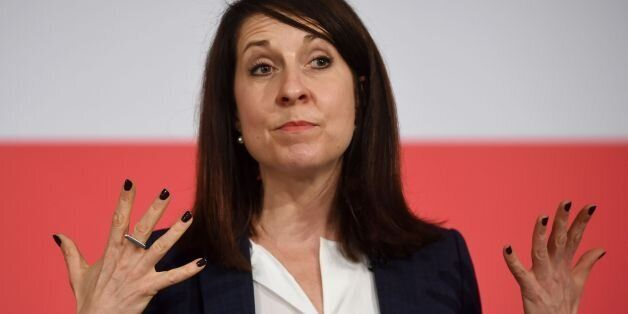 Labour leadership contender Liz Kendall during a Labour Leadership and Deputy Leadership Hustings at...