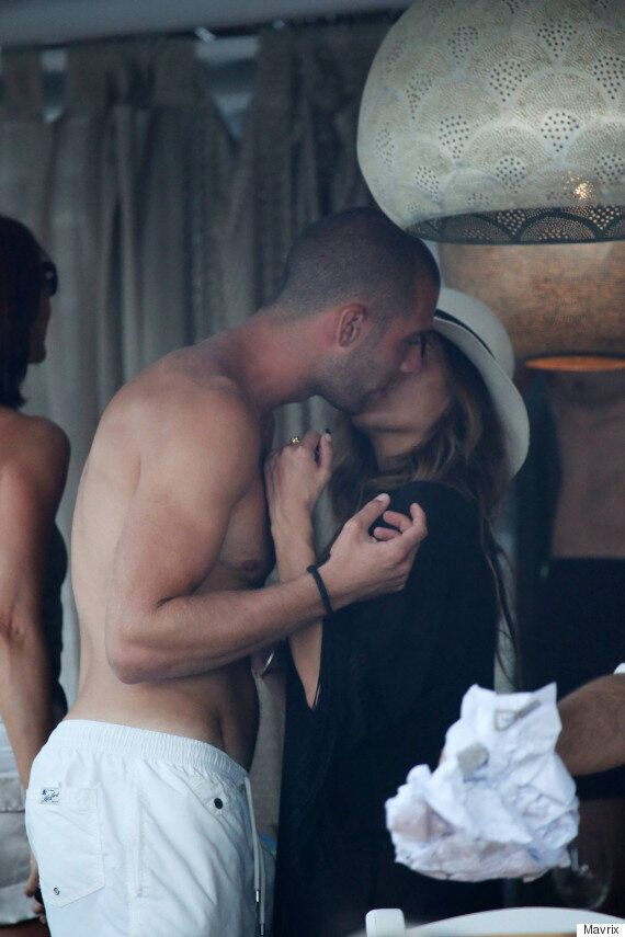 Nicole Scherzinger And Footballer Pajtim Kasami Look VERY Cosy On Holiday In Greece