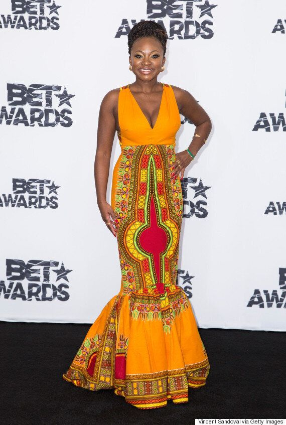 Graduate Who Broke The Internet With Her African Prom Dress Designs Naturi Naughton's BET Awards