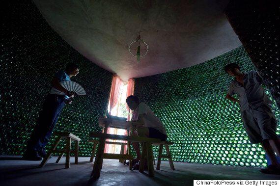Architecture Graduate Li Rongjun Makes His Own Office - Using Beer
