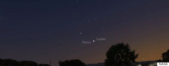 Venus And Jupiter Appear Fraction Of A Degree Apart In Night Sky On June 30, NASA