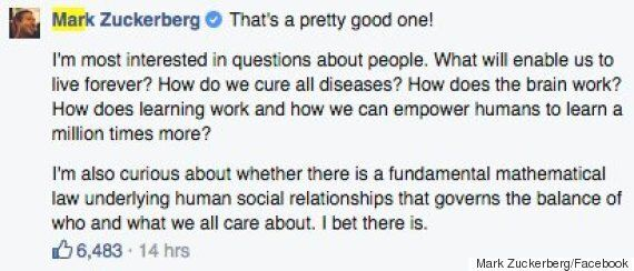 Mark Zuckerberg And Stephen Hawking Facebook Q&A Explores Humans Living