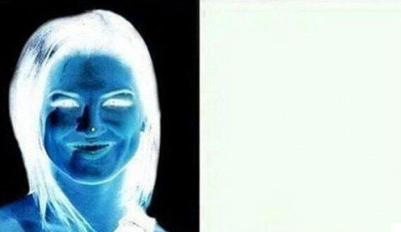 Optical Illusion Somehow Transforms Sinister Photo Negative Into Beautiful