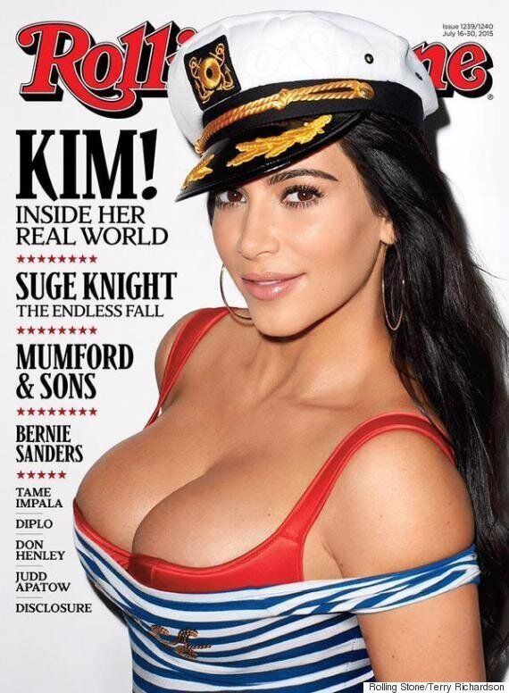 Kim Kardashian Stars On Her First Rolling Stone Cover, Praises Kanye West, Caitlyn Jenner And Feminism