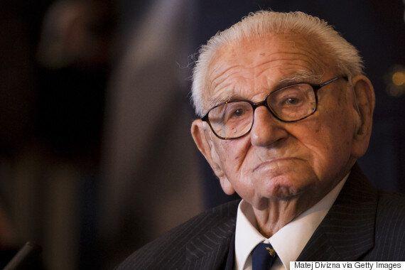 Sir Nicholas Winton Dead: 'British Schindler', Who Saved 669 Children From The Holocaust, Dies Aged