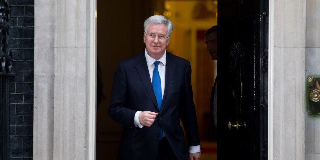 Michael Fallon arrives at 10 Downing Street, London, following the Conservative's victory in the General