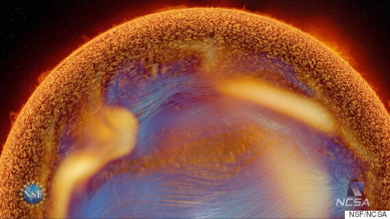 Solar Superstorm Film Voiced By Benedict Cumberbatch Explains How The Sun Could Shutdown