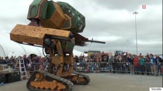 Robot Wars: America Challenges Japan To MegaBot