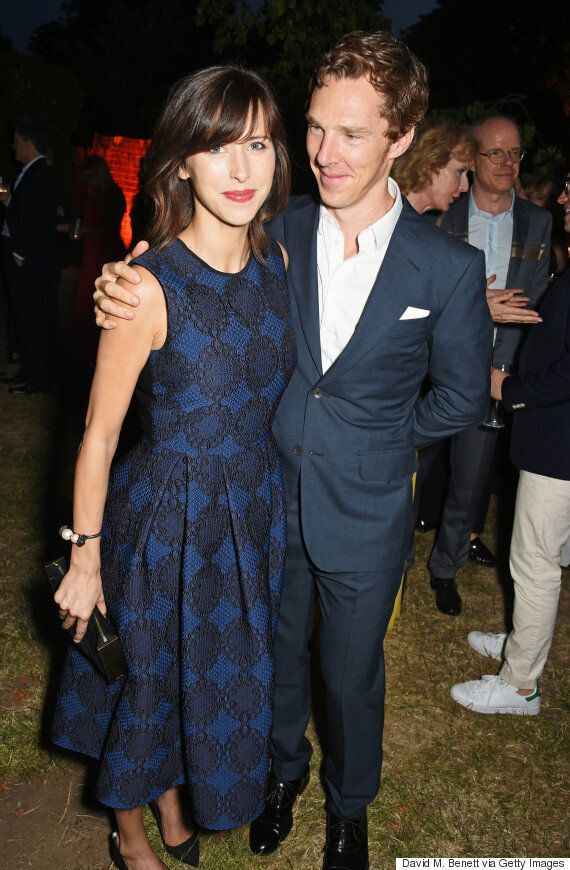 Benedict Cumberbatch And Sophie Hunter Make Their First Public Appearance Since Welcoming Baby