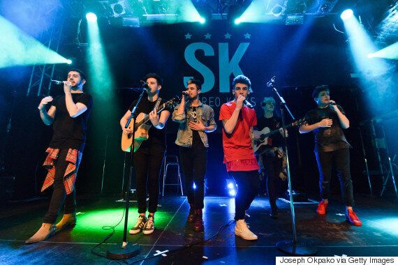 'X Factor' Band Stereo Kicks Slam Former Mentor Louis Walsh: 'We're Glad To Be Away From