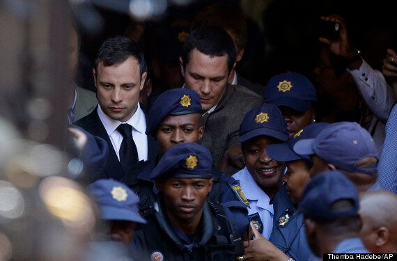 Oscar Pistorius Murder Trial: Live Footage Of Judge Delivering Sentence For Manslaughter Of Reeva