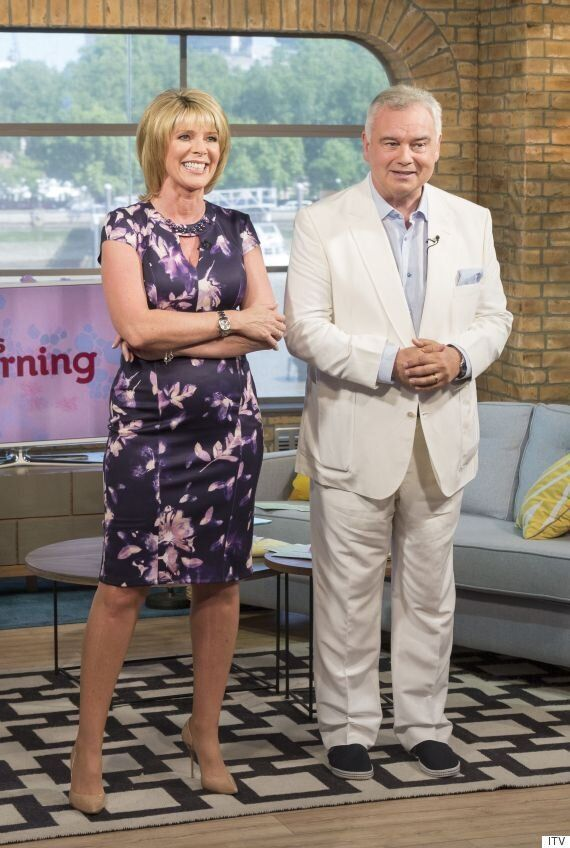 Eamonn Holmes Wore A White Suit On 'This Morning' And Twitter Went Mad For