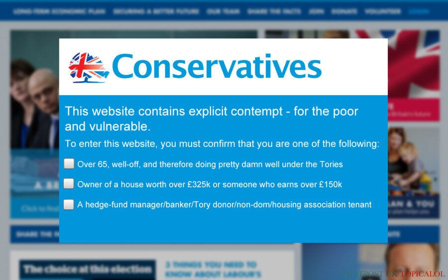 Conservative Party Puts New Restrictions On Who Can Enter Its
