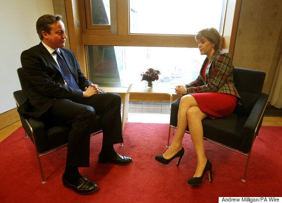 David Cameron 'Would Not Share Sofa' With SNP Leader Nicola Sturgeon On Marr