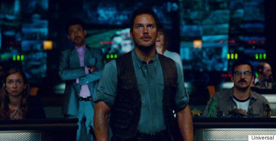 'Jurassic World' Extended Trailer: Chris Pratt Tames Velociraptors In New Clip