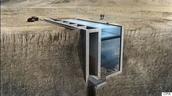 Casa Brutale Is A Stunning Bond Villain's Lair That's Built Right Into A