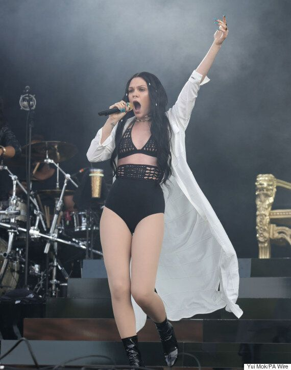 Wireless 2015: Jessie J Storms Musical Festival Stage, Despite Doctors' Orders Following Mystery Surgery