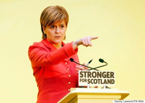#NotRuledOutByTheSNP Launched After SNP's Nicola Sturgeon Refuses To Rule Out