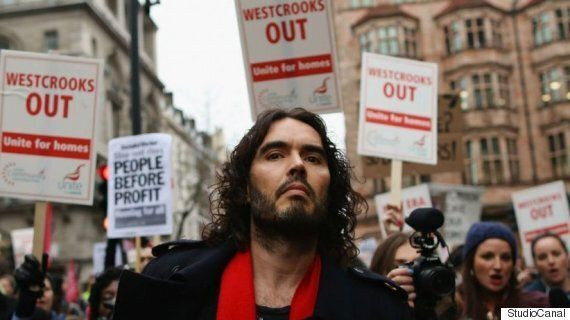 Russell Brand's Charisma Transcends Economic Barriers, Says 'The Emperor's New Clothes' Director Michael