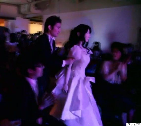 Robot Wedding In Japan Sees Bot Named Frois Marry A Humanoid