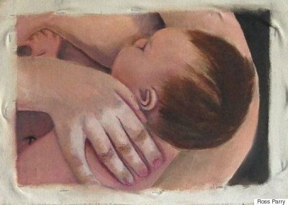 Student 'Censored' By School After Her Breastfeeding Artwork Removed From Display During