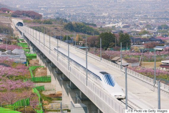 Japan's Maglev Train Breaks Its Own World Speed