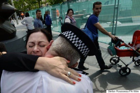 Gill Hicks 7/7 Survivor Reunited With PC Andy Maxwell Who Rescued