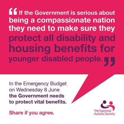 My Message to George - Protect Disabled People from Benefit