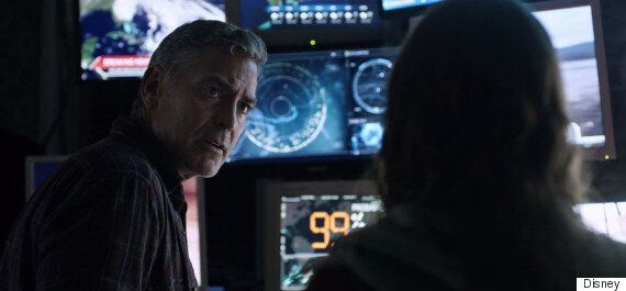 'Tomorrowland' Trailer: George Clooney And Britt Robertson Star In New Teaser For Disney's 'A World Beyond'