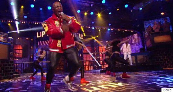 Mike Tyson Takes On Salt 'N' Pepa's 'Push It' In Energetic 'Lip Sync Battle' Performance