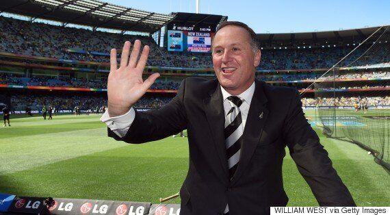 New Zealand Prime Minister John Key Apologises For Pulling Waitress'