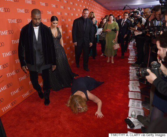 Kim Kardashian And Kanye West Will Not Help You Up If You Take A Tumble, As Amy Schumer Found Out...