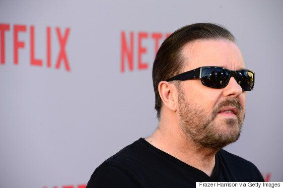 Ricky Gervais Steps Up Row Branding Trophy Game Hunters 'Murdering