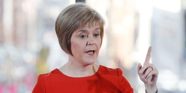 File photo dated 24/09/14 of Nicola Sturgeon, who is expected to be confirmed as Scottish First Minister-in-waiting...