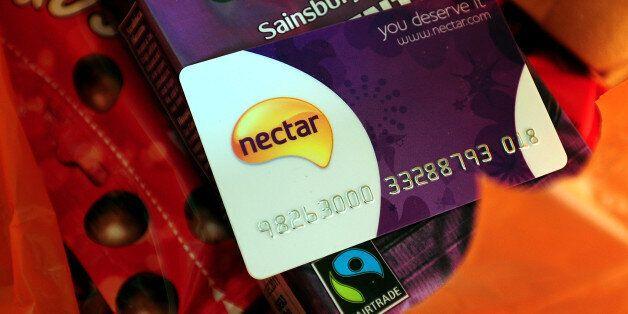 A general view of a Sainsbury Nectar loyalty