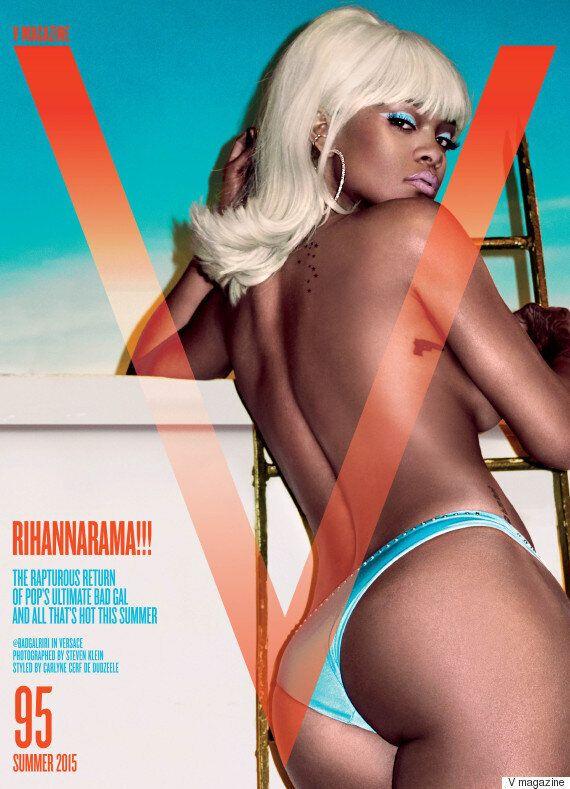 Rihanna Strips Off And Goes Blonde For Steven Klein V Magazine Photo Shoot