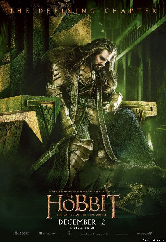 Brand New 'The Hobbit: The Battle Of The Five Armies' Poster Shows Thorin Broken But