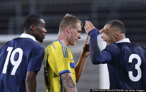 France U-21 Defender Gets Comeuppance V Sweden