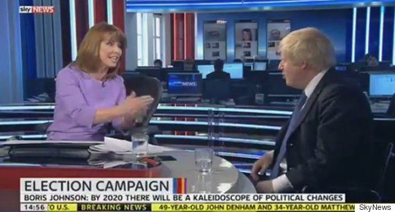 Kay Burley Finally Get Boris Johnson To Admit It Would Be 'Wonderful' To Be Conservative
