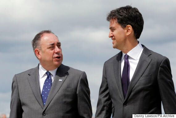 Ed Miliband Sides With The SNP Over English Votes For English