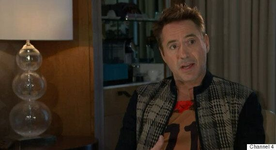 Robert Downey Jr Shuts Down Channel 4 News Interview Over Drug And Prison Questions