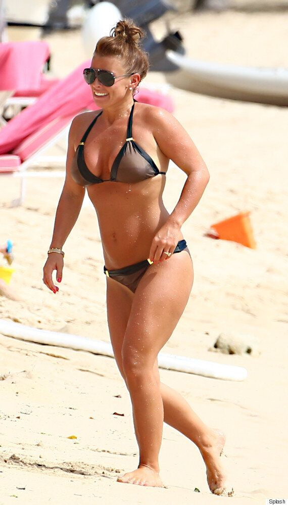 Coleen Rooney Is All Smiles On Family Beach Break With Husband Wayne In Barbados
