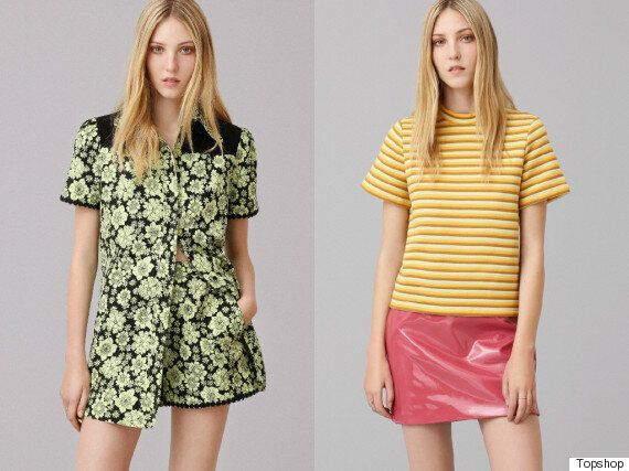 Topshop Archive Collection: The Store Brings Back Its Most Iconic Designs Modelled By Ella