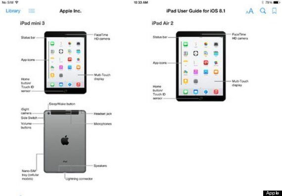 New iPad Mini 3 And Air 2 Accidentally Revealed By Apple Ahead Of